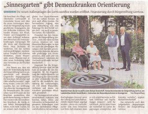 Westdeutsche Zeitung 13.9.2017