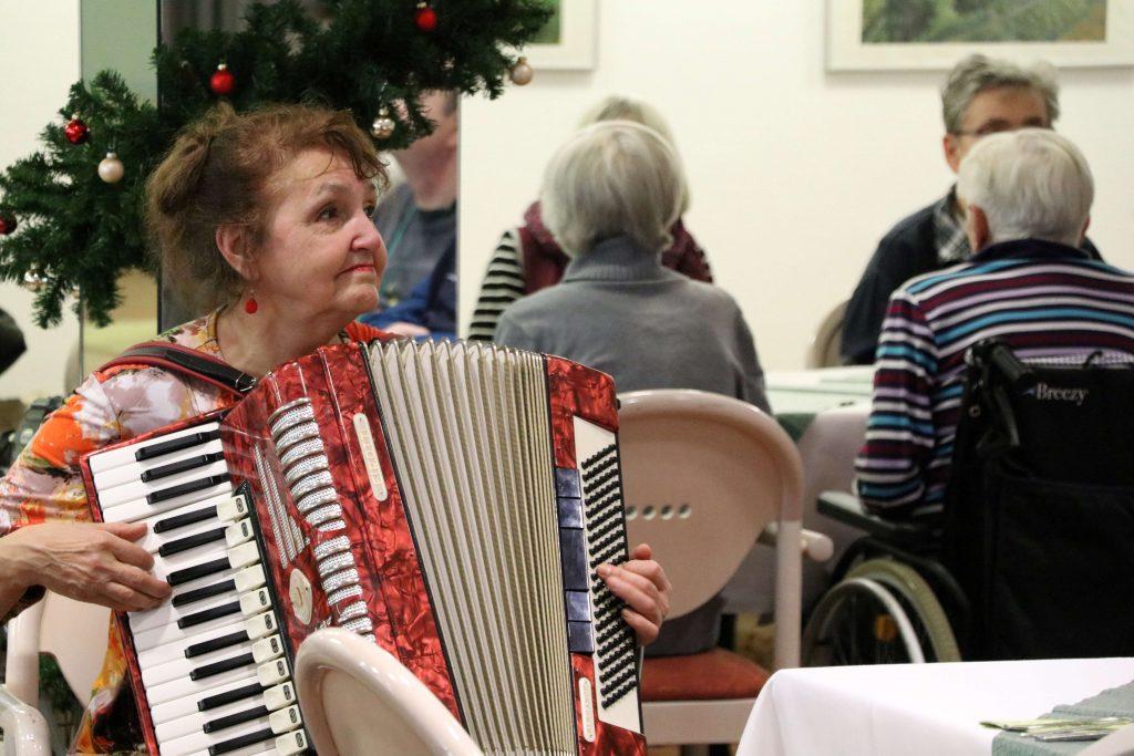 Lidia Vogel, Akkordeonspielerin