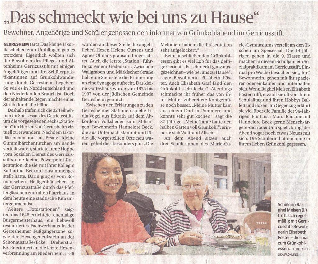 Rheinische Post, 27.12.2019