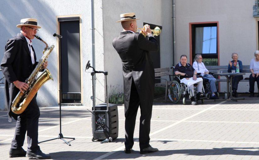31.05.2020 Hardy's Jazzband bringt Urlaubsstimmung ins Gerricusstift
