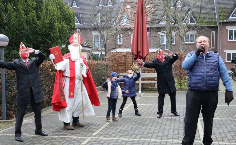 06.12.2020 Der Nikolaus kommt mit Musik